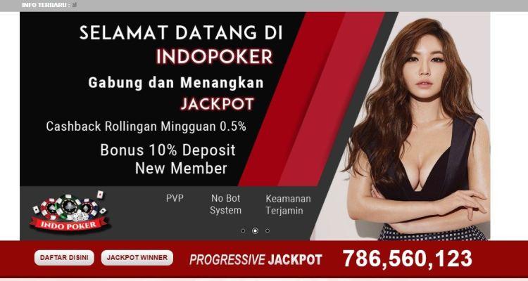 IndoPoker - Situs Judi Poker & Domino Online Terpercaya